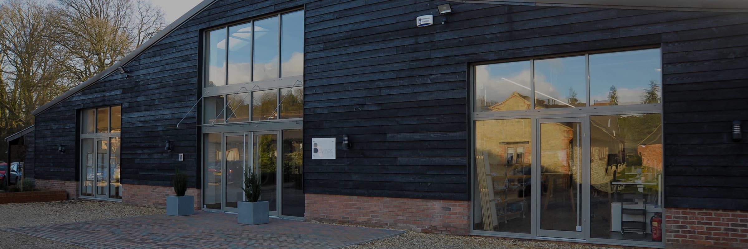 exterior photgraph of Byrnes Dental Lab